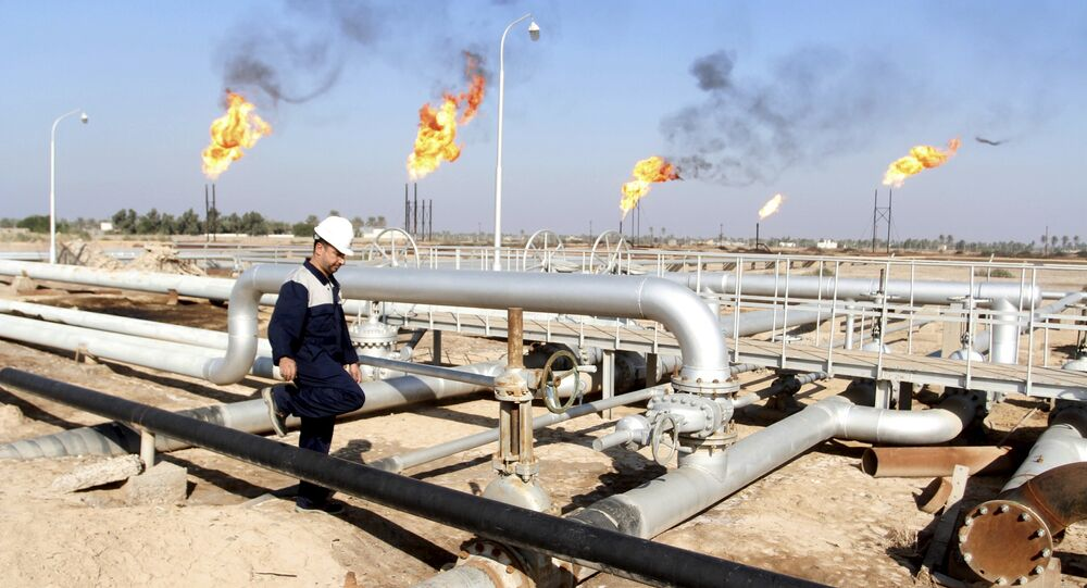 Production d'hydrocarbures en Irak (archives photo)