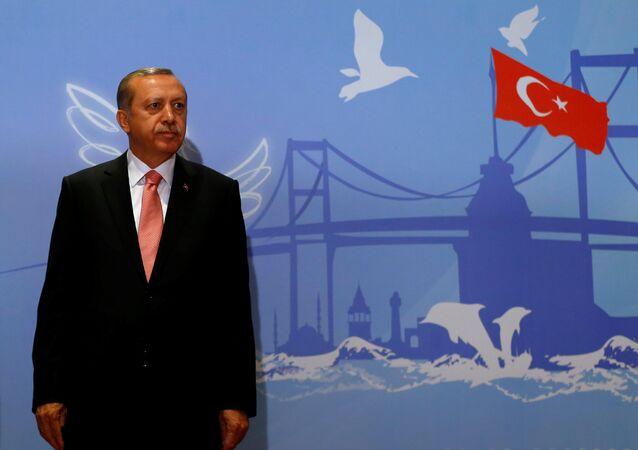 Turkisсher Präsident Recep Tayyip Erdogan