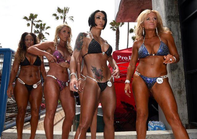 Muscle Beach : un concours de bodybuilding en Californie