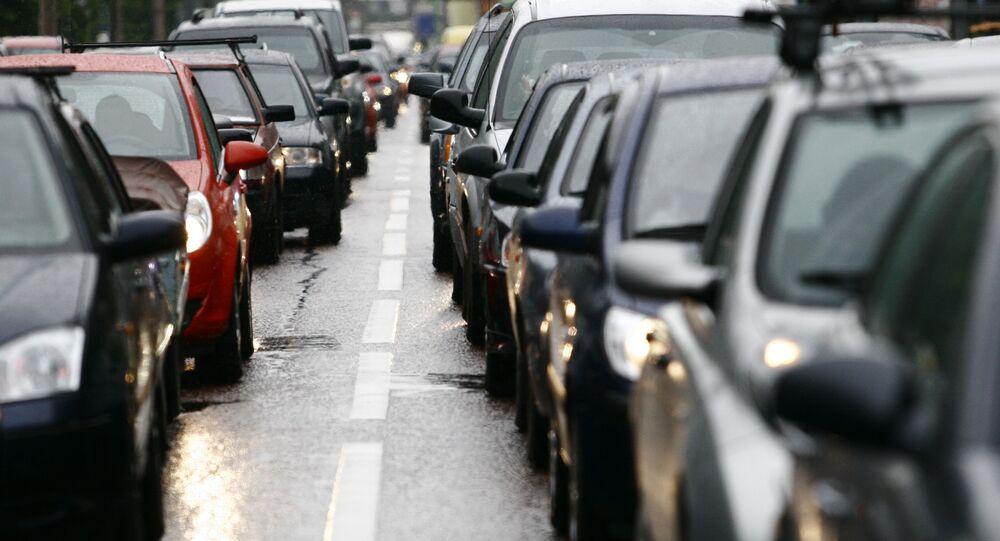 Un embouteillage (image d'illustration)