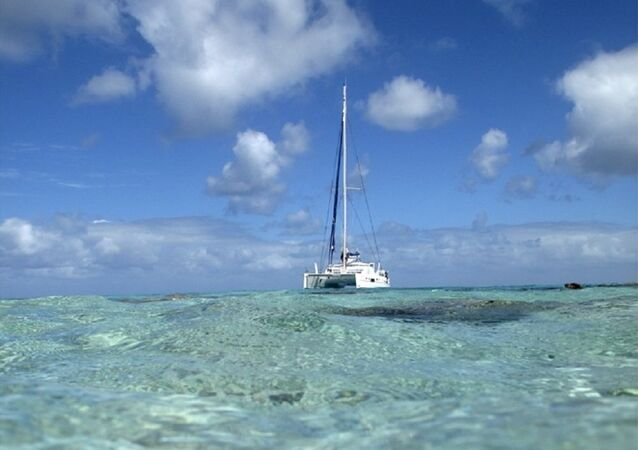 Yacht. Image d'illustration