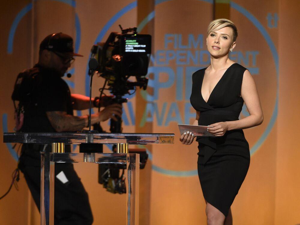 L'actrice américaine Scarlett Johansson.