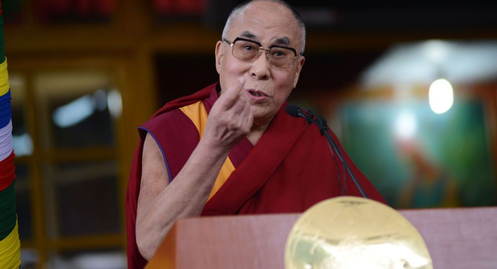 Le chef spirituel des Tibétains dalaï-lama