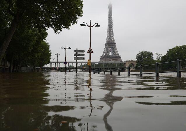 Inondation à Paris
