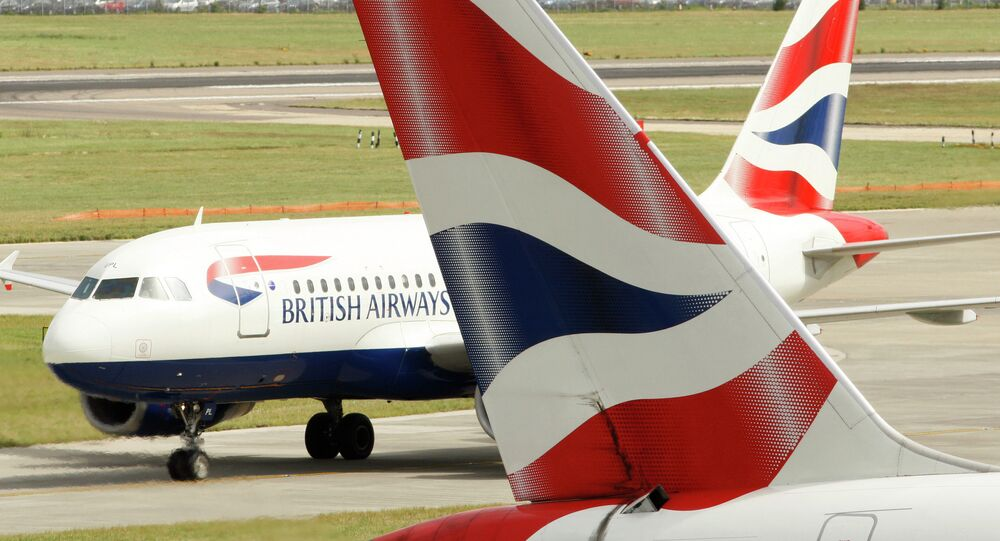 Un avion de British Airways
