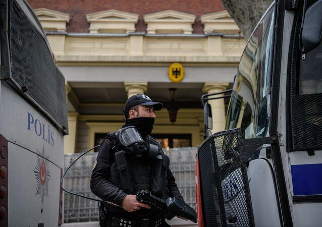 Le consulat allemand à Istanbul bouclé par la police