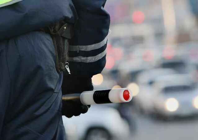 Police de la route de la Russie