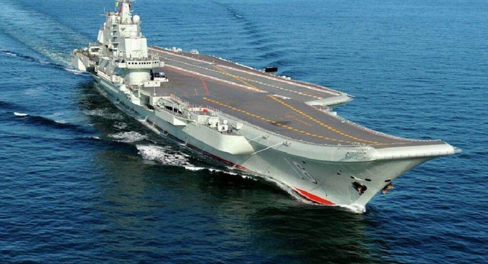 Le porte-avions chinois CV-16