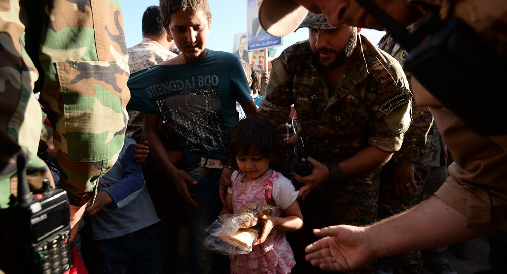 Aide humanitaire russe en Syrie