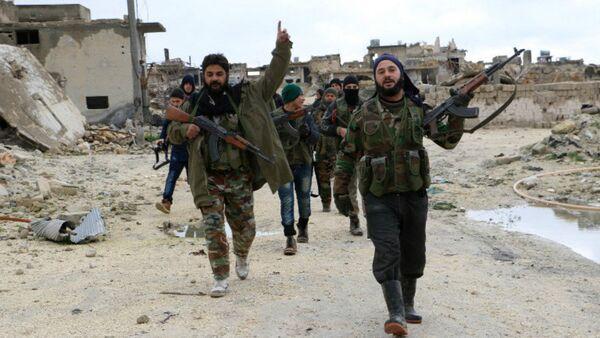 Des djihadistes à Alep - Sputnik France