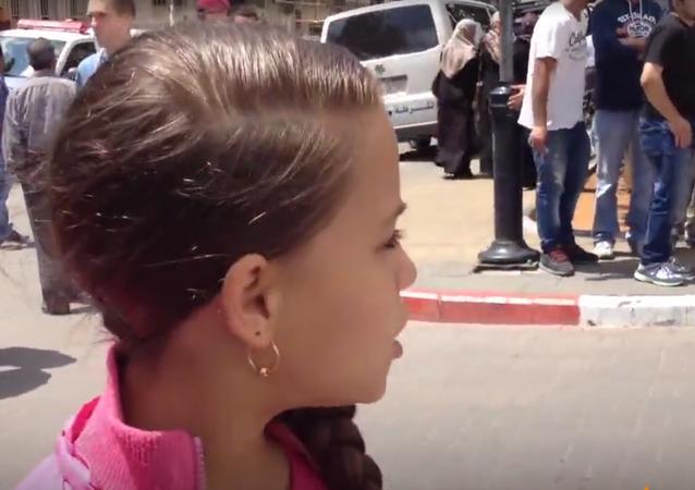Jana Jihad, la plus jeune journaliste palestinienne