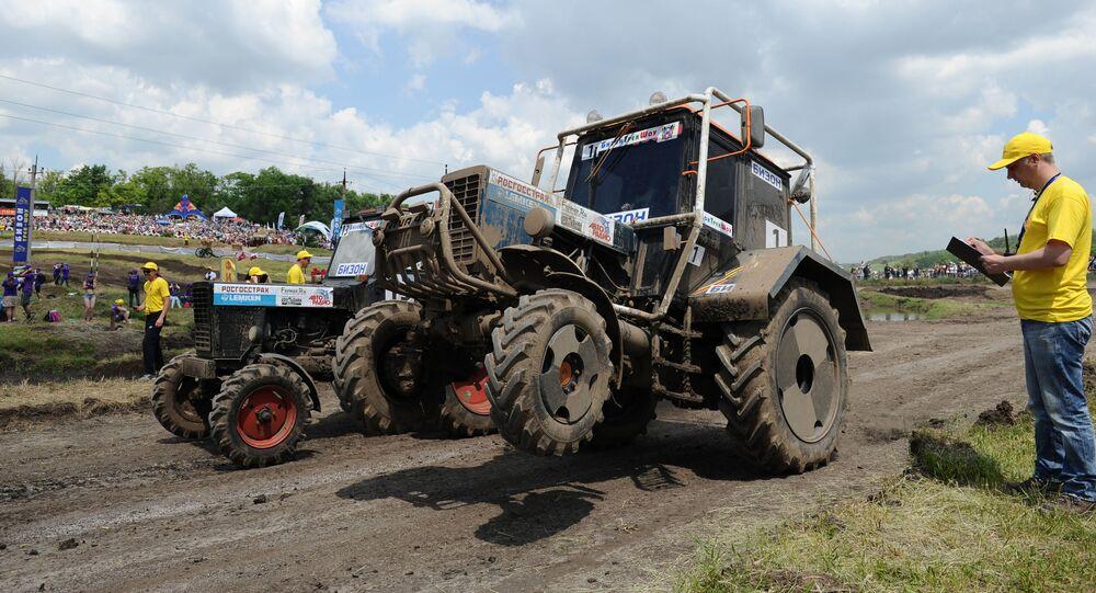 Un tracteur, image d'illustration
