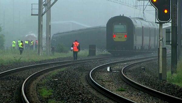 Collision de trains en Belgique - Sputnik France