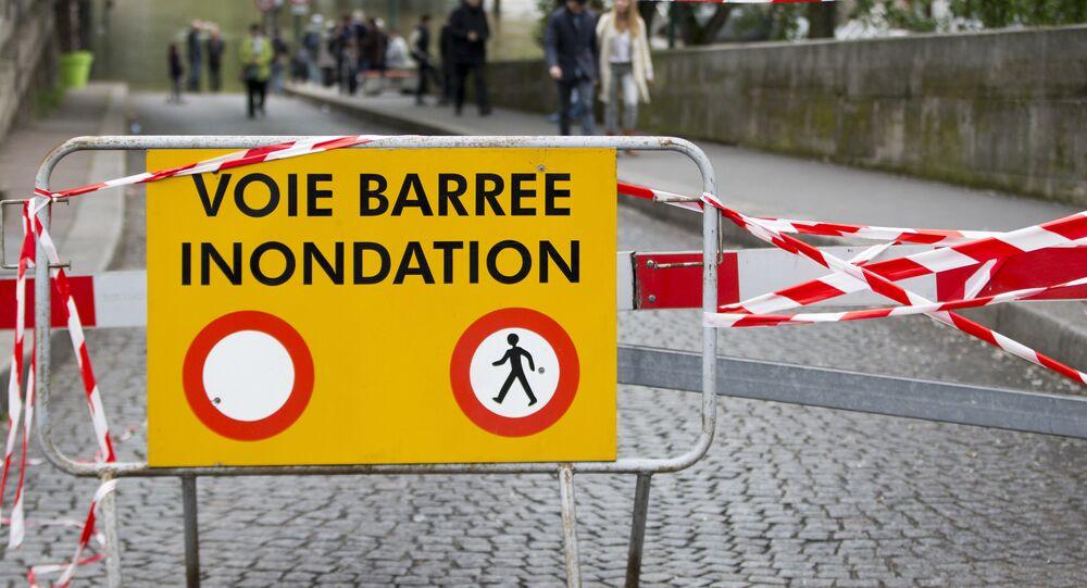 des inondations en France