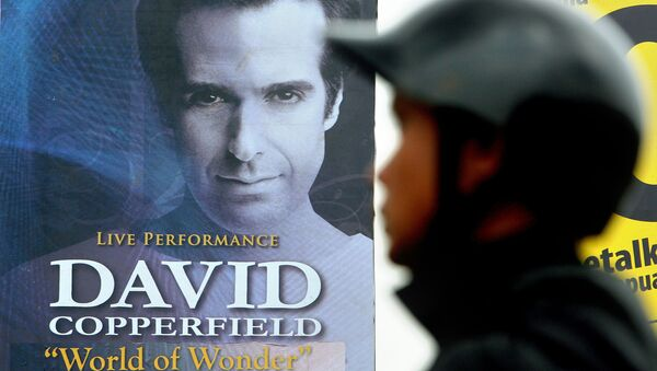 David Copperfield - Sputnik France
