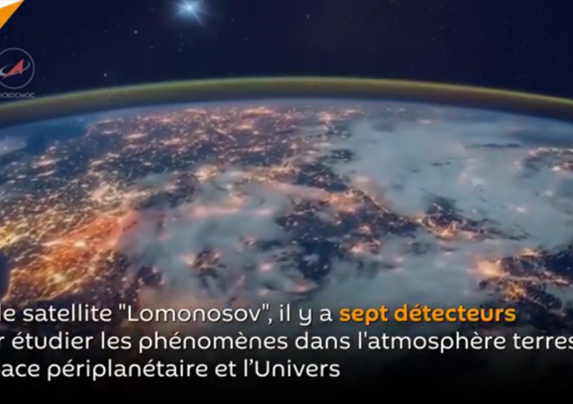 Le satellite russe Lomonosov