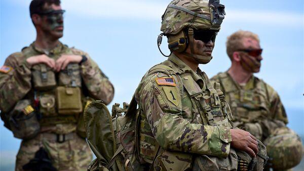 Militares américains aux exercices de l'Otan - Sputnik France