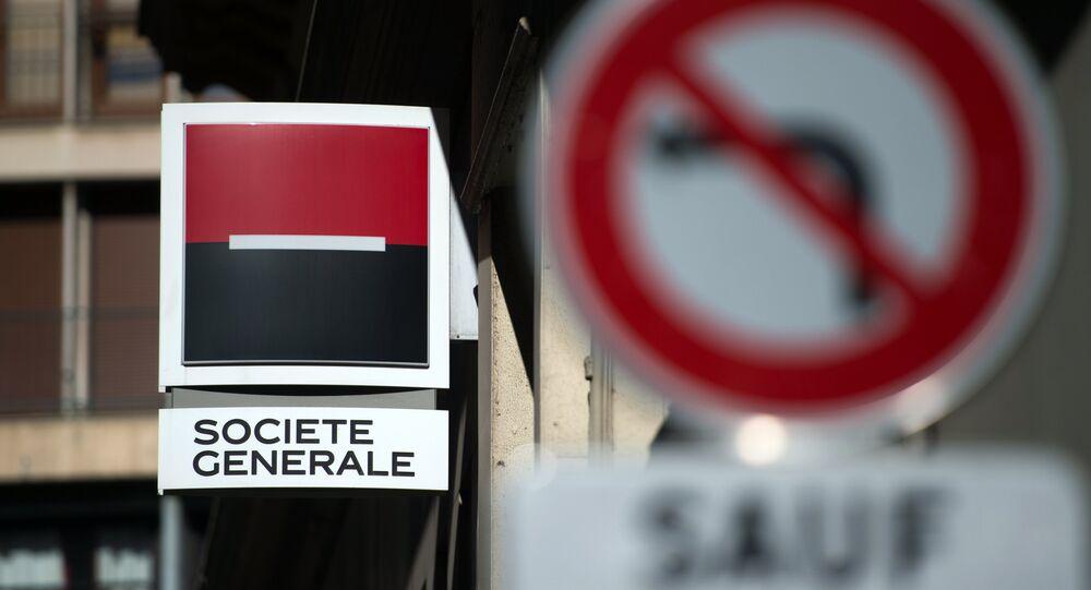 La banque française Société Générale