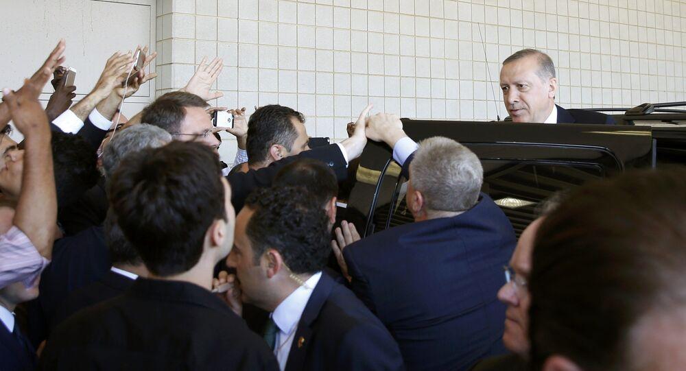 Recep Tayyip Erdogan aux USA
