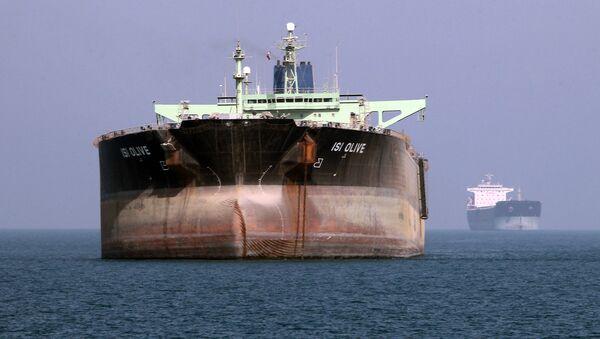 Un pétrolier iranien près du port de Bandar Abbas (Iran du Sud) - Sputnik France