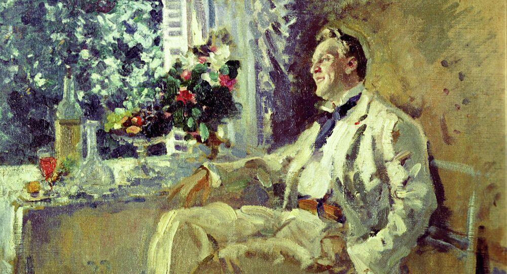 Constantin Korovin. Portrait of Fedor Chaliapin