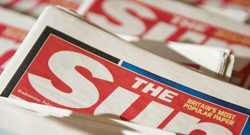The Sun, le quotidien britannique