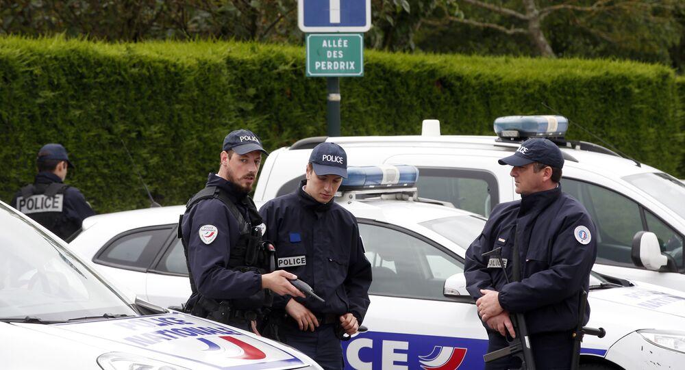 police française, image d'illustraition