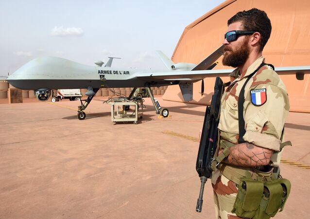 Base militaire française. Image d'illustration