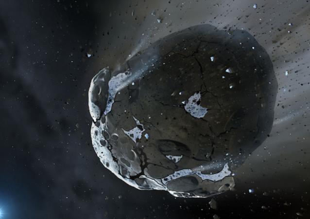 Астероид, обкусанный белым карликом