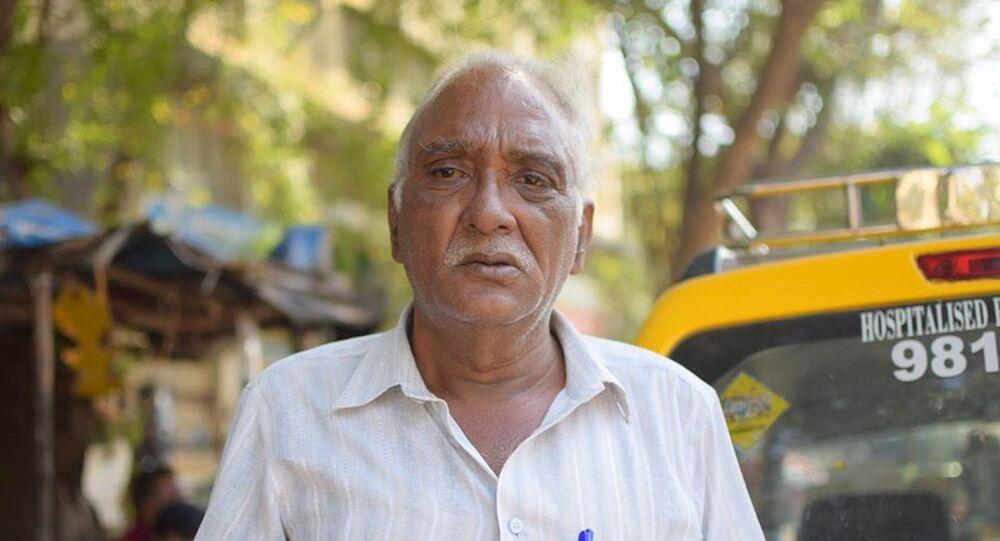 Le chauffeur Vijay Thakur