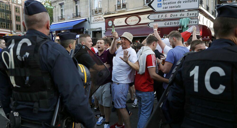 Euro 2016: 16 supporters interpellés à Lille