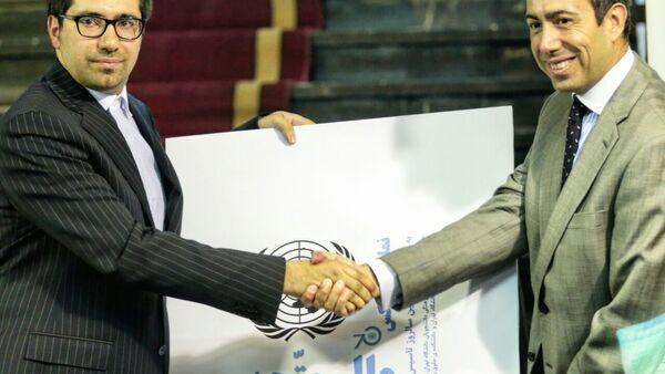 L'Iranien Ehsan Mohammadi Malahati, candidat au prix de l'UNESCO pour la promotion de la tolérance et de la non-violence - Sputnik France
