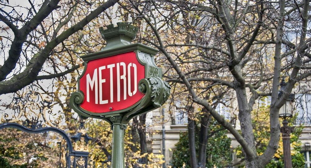 Métro à Paris