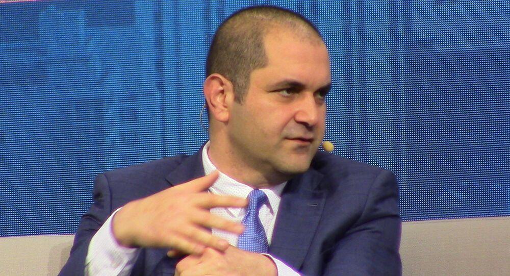 Shervin Pishevar, co-fondateur de Hyperloop One
