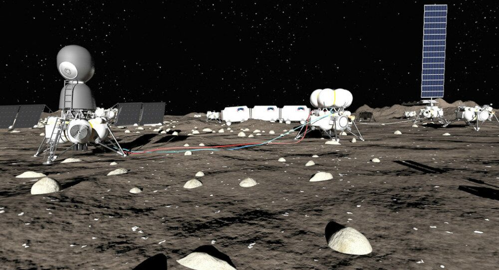 Le projet d'une base lunaire
