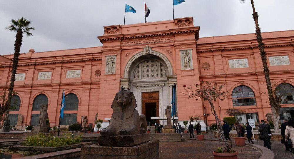 Musée égyptien au Caire