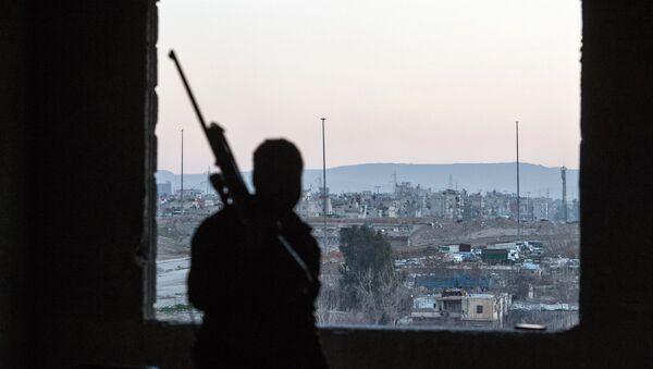 Ситуация в сирийском городе Дамаске - Sputnik France