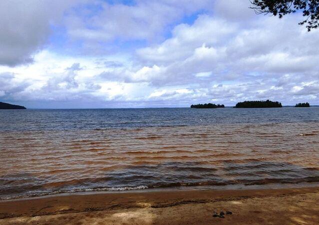 Le lac Siamozero