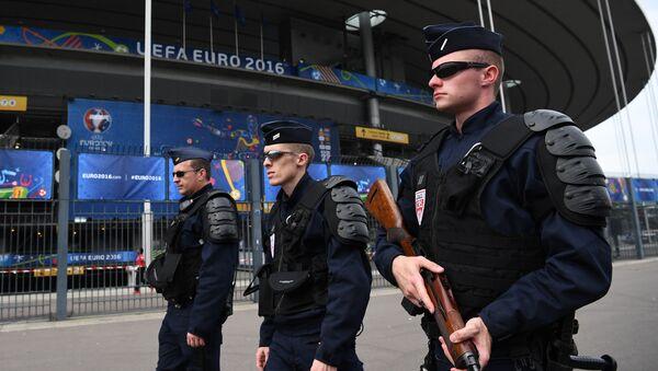 Une patrouille de police française - Sputnik France