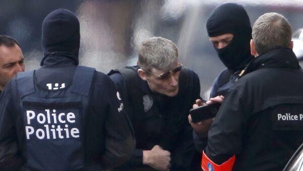 Une opération de police à Bruxelles - Sputnik France