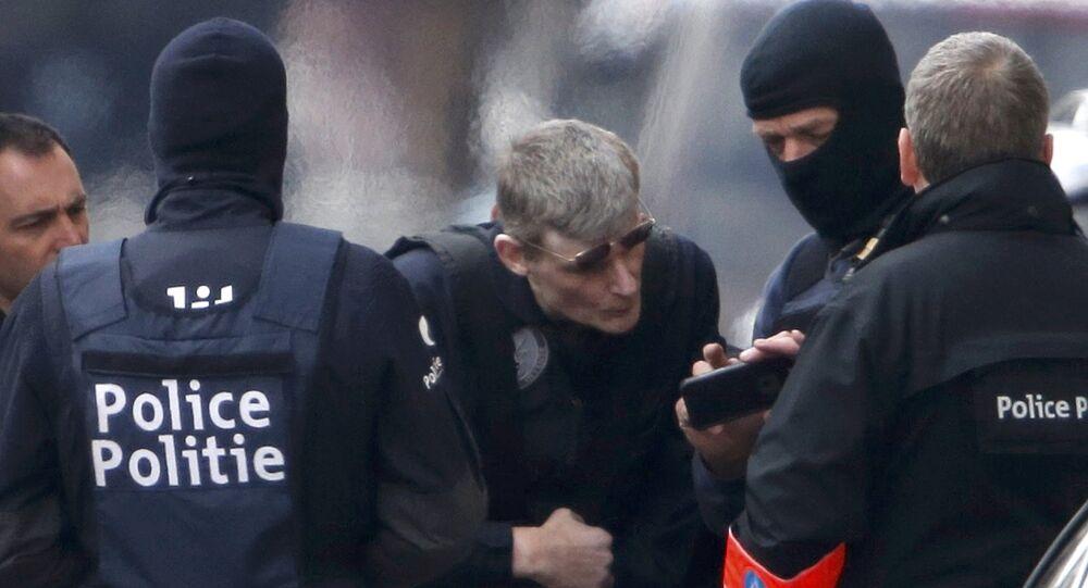Une opération de police à Bruxelles