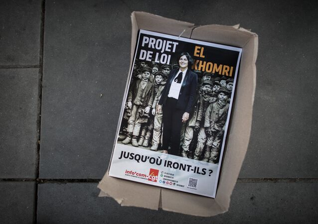 poster contre la loi El Khomri