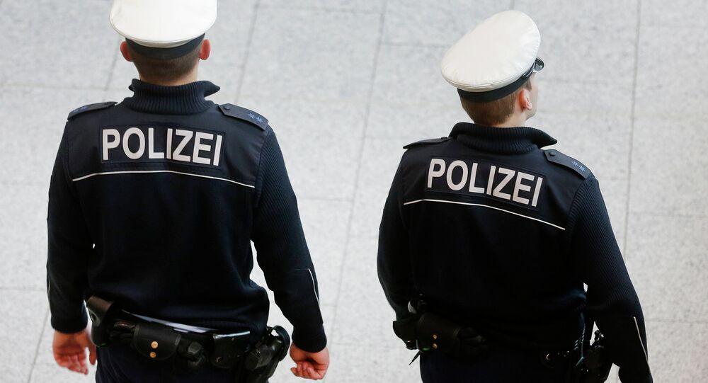La police autrichienne