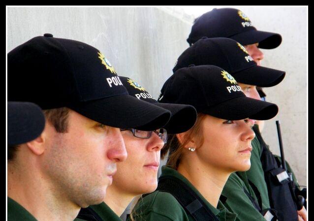 les policiers allemands