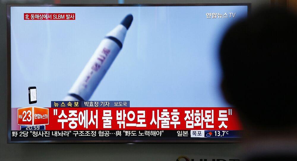 Un tir nord-coréen