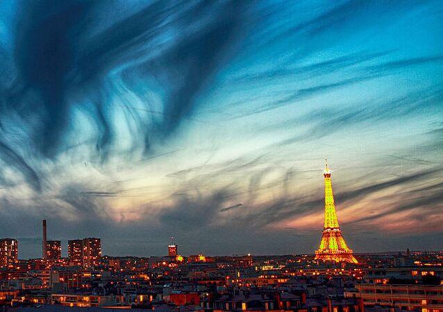 Nuages à Paris