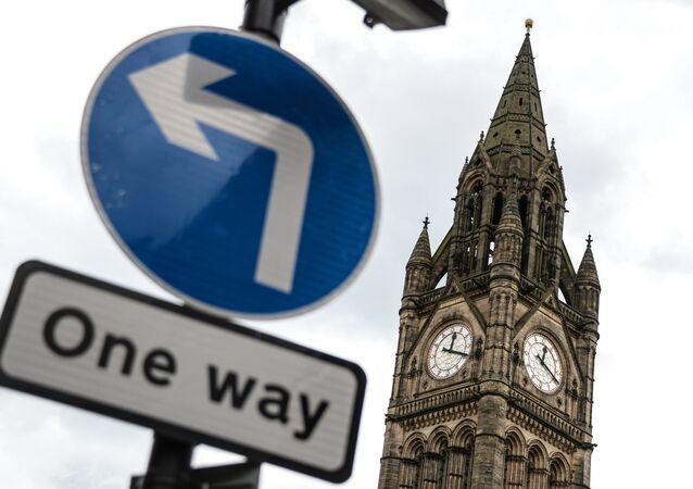 La ville britannique de Manchester