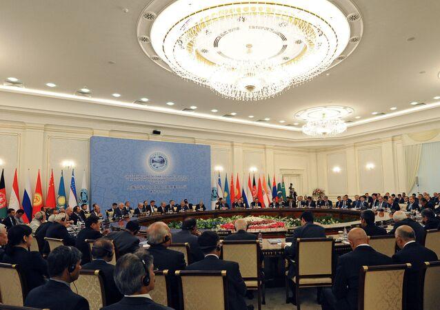 Sommet de l'Organisation de coopération de Shanghai (OCS) à Tachkent