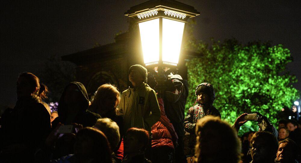 Le Festival international de Moscou Cercle de lumière