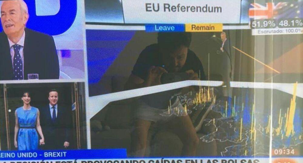 Le politicien espagnol Asier Antona Gomez choqué par le Brexit en oublie les bonnes manières…